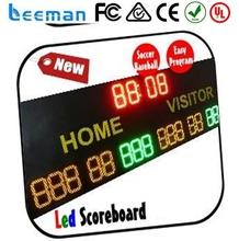 led display board zamak injection die casting basketball scoreboard with shot clock