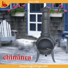wrought iron outdoor chiminea/outdoor stove chimeneas