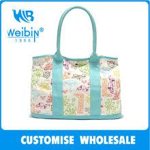 2014 best promotional canvas bag women canvas shopping bag