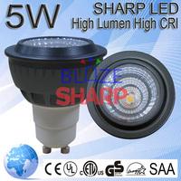 5W Sharp COB LED Light Bulb GU10 >80Ra 60 Degree 230V LED Lamp Circuit