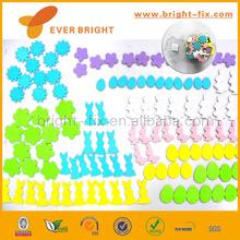 Hot Sale Flower & Rabbit & Egg Shape EVA Foam Craft/Interesting Kids Craft Toy/Cute cartoon EVA Foam Sticker