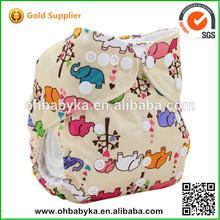 Ohbabyka Pattern PUL golden star imports Super Soft sleepy baby diaper
