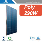High efficiency 290w solar panel cell connect to dc to ac inverter for whole house solar pv system
