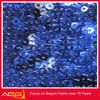 The hot sale top 100 design 100% polyester beautiful fascinating traditional romantic sequin fabric drapery fabric