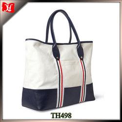 Custom cheap large beach tote bag for men waterproof canvas beach bag for man