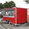 Carro móvil de alimentos/quiosco de los alimentos