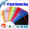 "Portable shockproof Neoprene sleeve Case tablet case for 7',8',9"",11"",12"",13"",14"" tablet pc"