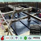 Basement waterproofing app modified asphalt roll roofing felt