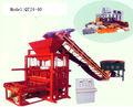 Qtj 4-35 à haute efficacité automatique comprimé brique de cendres volantes usine faisant la machine