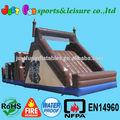 gigante inflable barco pirata con diapositivas para el deporte