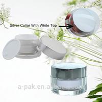 New Design Acrylic Plastic Cosmetic Jar CJN26-001