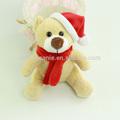 Brinquedo de natal, natal urso de pelúcia para o bebê presentes