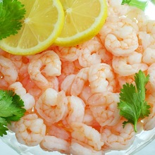 IQF FROZEN COOKED VANNAMEI WHITE SHRIMP PRAWN MEET PEELED CUT DEVEINED TAIL-OFF (CPD T-off)