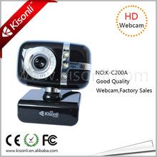 Mini size fashion free driver pc usb webcam camera definition driver