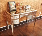 Dressing Table with Mirror Surfaces