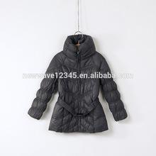 New design ladies duck down jacket coat for winter flora shape collar
