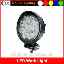 Hot sell epistar round 27w 1890lm 12v 24v utv led working light