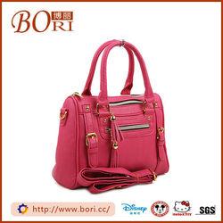 chain handle patent leather handbag rivet
