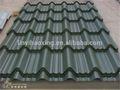 de metal de exprimido de acero para techos de hoja