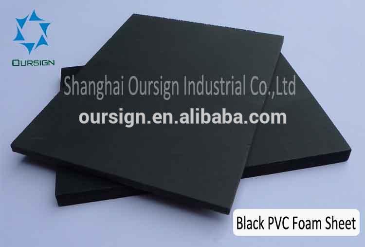 pvc sheets black pvc foam sheet