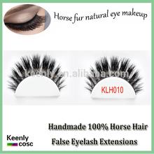 100% Horse Hair Made False Eyelash,Full Strip False Horse Lashes,Private Label Eyelash Extensions for Sale