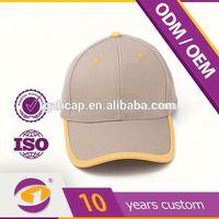 Flat Brim Customize Adjustable Size Plain White Baseball Caps Cheap Kids
