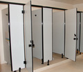 impermeável fumeihua formica hpl porta de banheiro público