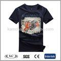 Nueva mejor venta azul hombre deportes modelo t- shirt