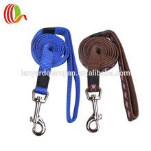 Dual dog leash custom oem service woven/print accept no moq