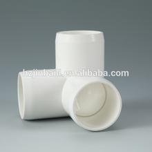 White 1'' ASTM Schedule 40 Slip 3-Way Elbow Support