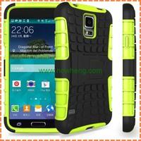 factory price 2 in 1 PC+TPU case for samsung galaxy s5 Mini