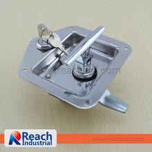 Camion o rimorchio incasso in acciaio inox lucidato chiave- di chiusura da incasso fermi toolbox