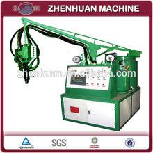 Low pressure polyurethane foam insulation injecting machine