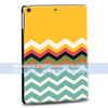 colour printing own design black hard PC case for ipad air for apple mini cover