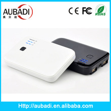 Two USB output 5000mah poratable power bank for mobile phone