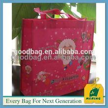 Beg membeli-belah pp bebas yang ditenun percetakan Made In China, MJ-L1203