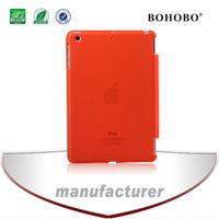 Mobile phone accessory matt crystal PC case for Ipad mini