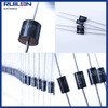 High quality 1.5KE18A plug-in unidirectional transient diode TVS transient voltage suppression diodes 1500W