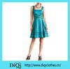 American Style Women Dresses Classic Women Fashion Dresses Knee Length Women Apparel