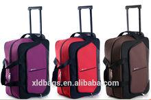 Hot sale custom waterproof wheeled duffle bag