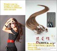 virgin brazilian and peruvian hair micro braids weaving