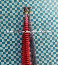 keratin bonded sticker hair extensions