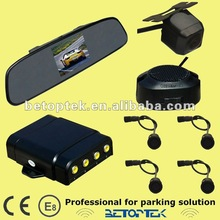 Car rearview parking sensor, 3.5 inch car mirror monitor with butterfly camera(BV-3500P-660)
