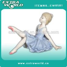 fashion ballet figurine dancing Pottery Ballerina