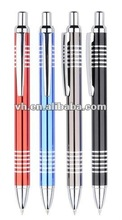 hot sale cheaply aluminum ball pen for promotion