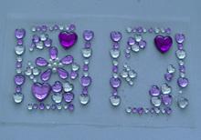2012 flash crystal sticker sl8002