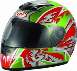 full face helmet (DP801-3 green)