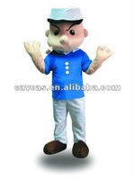 Popeye the Sailor cartoon costume