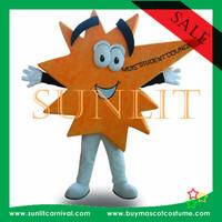special shape star mascot costume /fur mascot costume