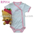 lovely baby body, cute baby body,baby wear 2012